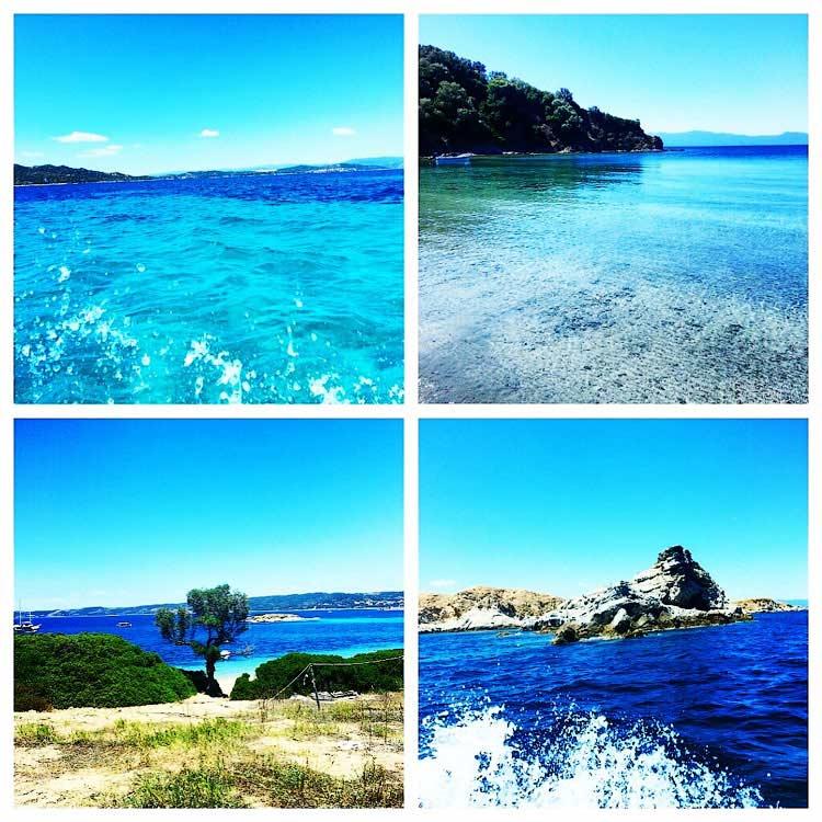 Уранополис, Эгейское море