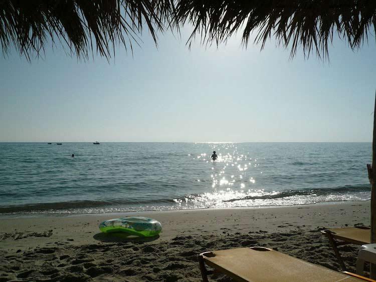 Пляж в Каллифее