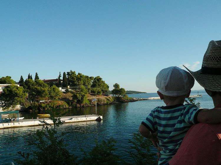 Отдых с ребенком в Халкидики