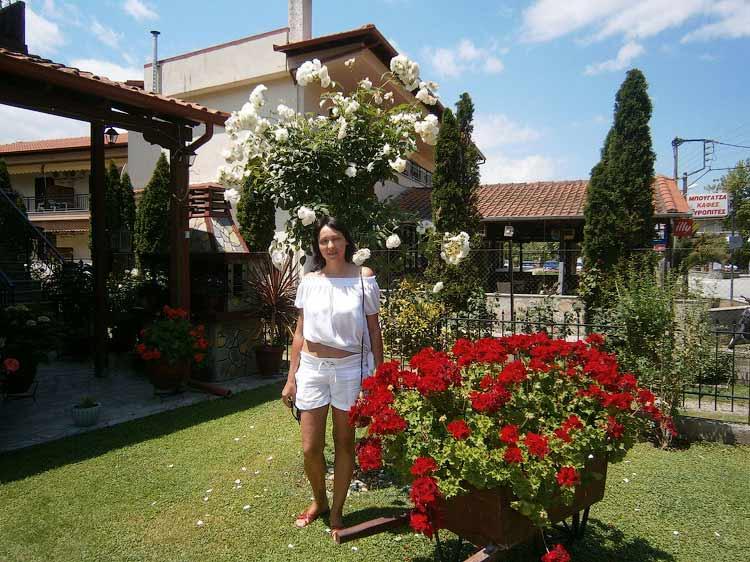 Ирина Зарубицкая - первый день в Греции