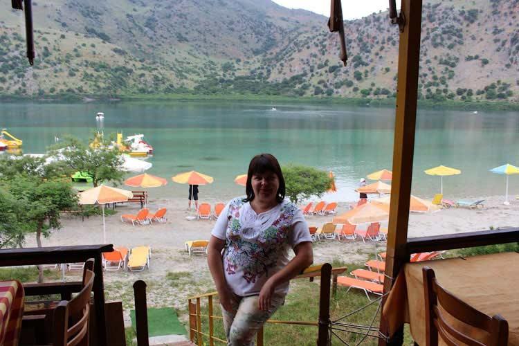 На озере Курна