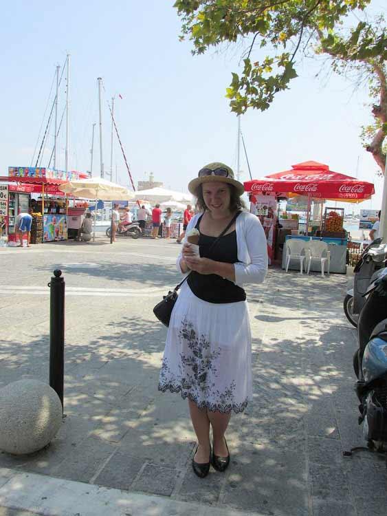 Отдых на Родосе, порт Мандраки