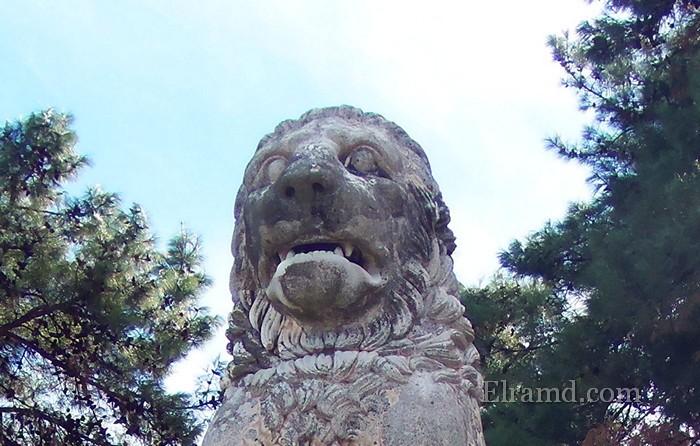 Амфипольский Лев - история находки