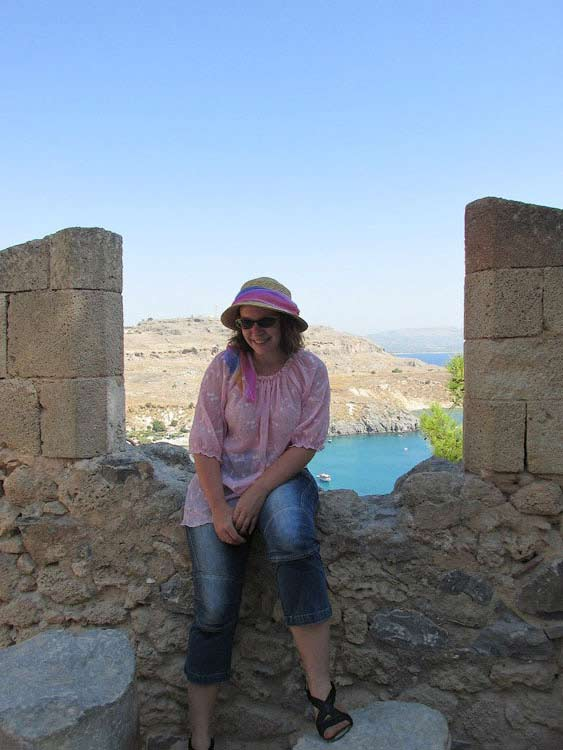 Крепостные стены Линдоса