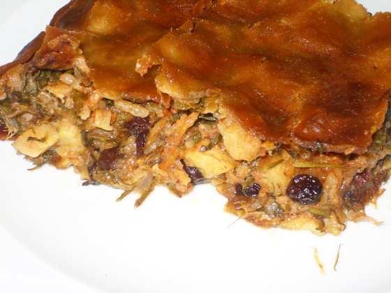 Бакальаропита - пирог с треской