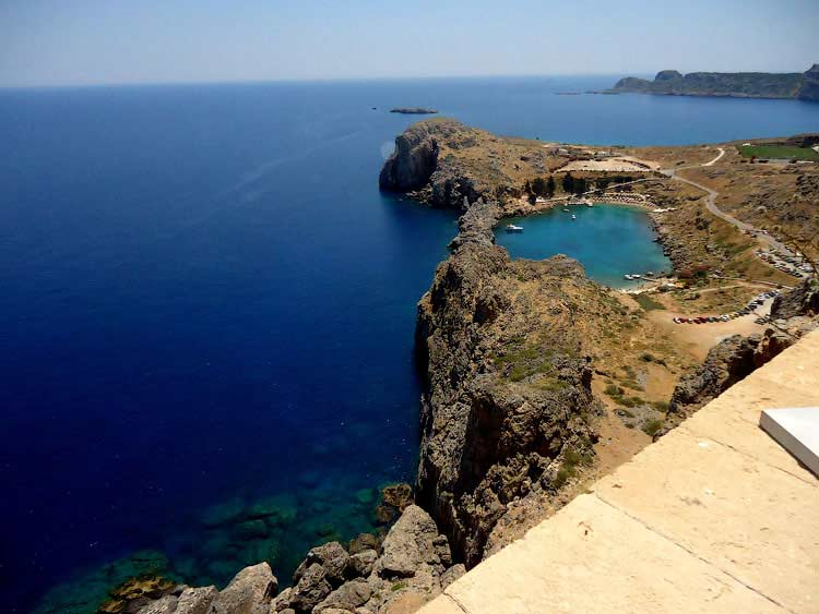 Вид на бухту Святого Павла