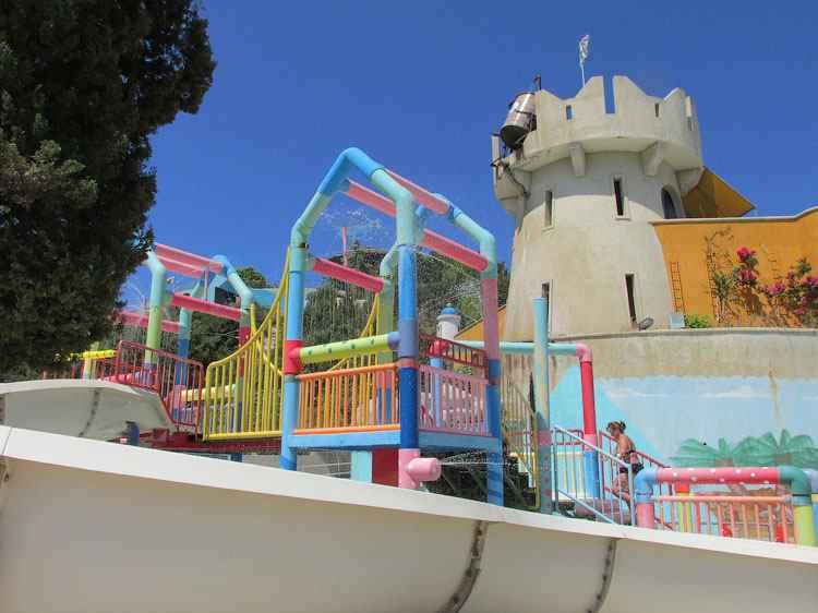 Детский сектор Аквапарка