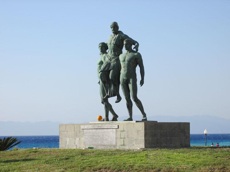 Диагорос с сыновьями