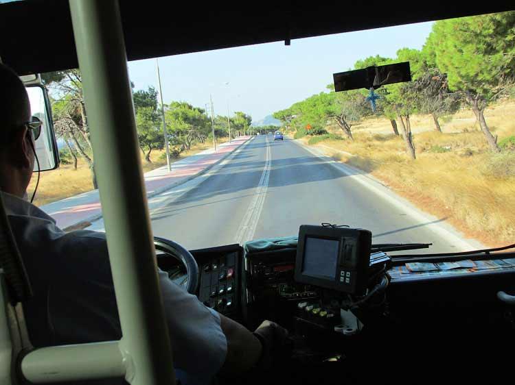 Дорога на Линдос