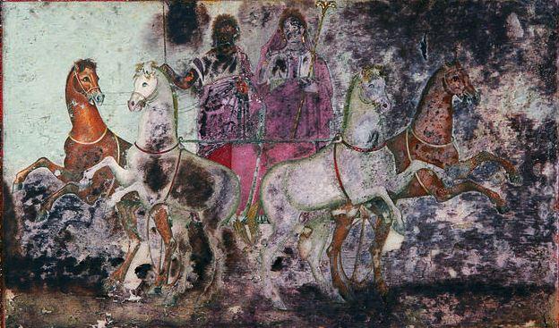 Похищение Персефоны - из гробницы Эвридики