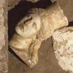 Раскопки в Амфиполе: кариатиды, мозаика, голова сфинкса