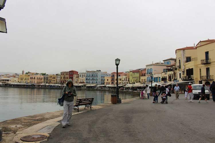Венецианская гавань в Ханья, Крит