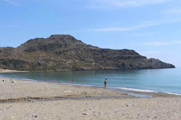 Деревня Плакиас, пляж с Голубым флагом