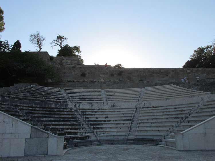 Одеон, Родос