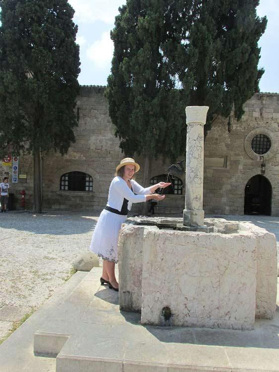 В Старом городе Родоса