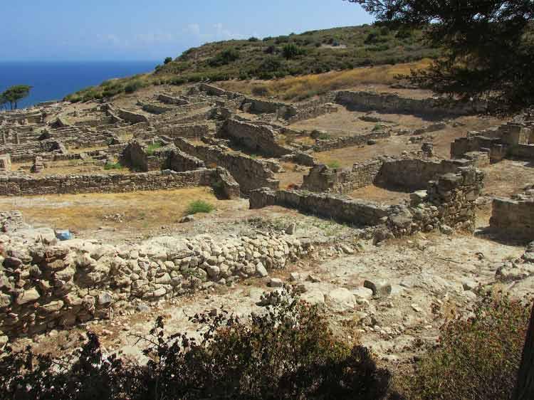 Раскопки Древнего Камироса