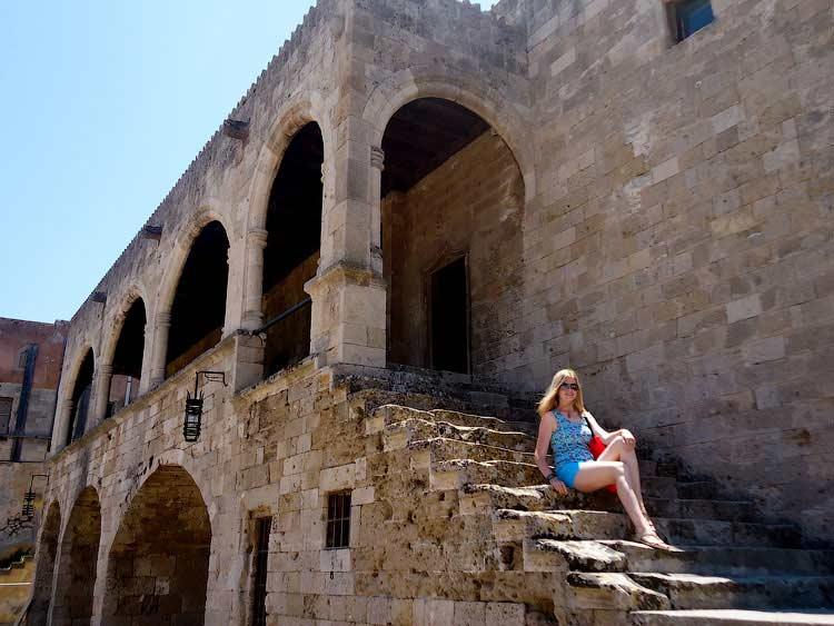 В Старом Городе, Родос