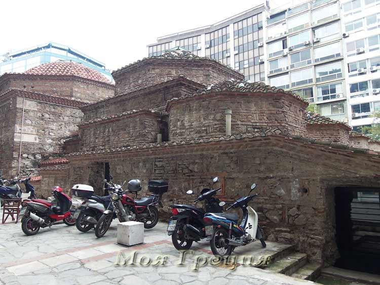 Старые турецкие бани Яхуди Хамам