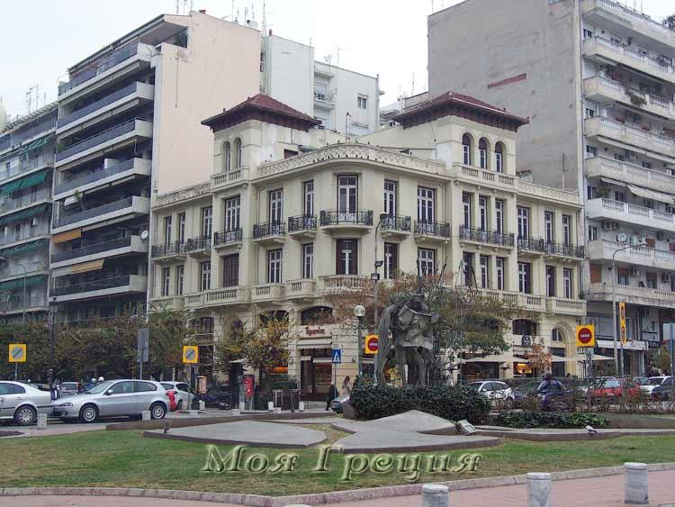 Неоклассическая архитектура в Салониках
