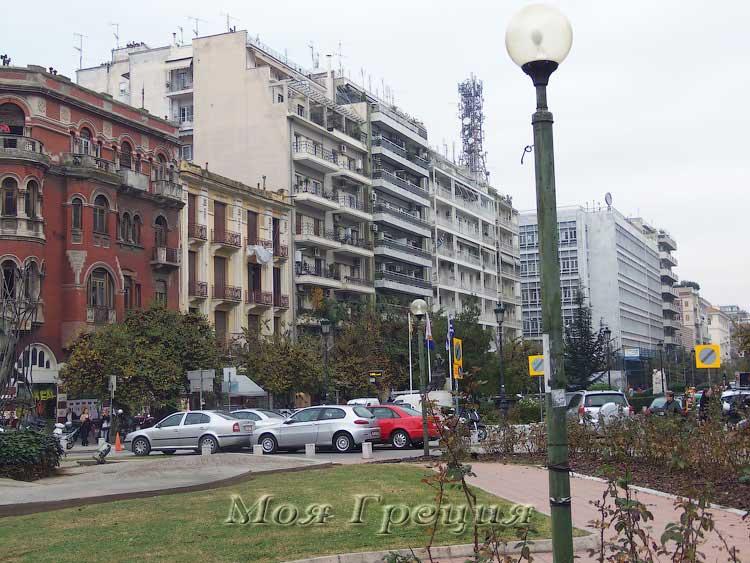На площади Св. Софии