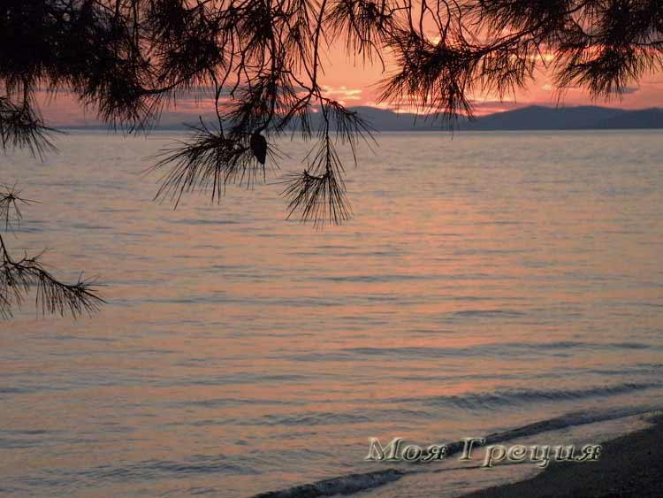 Закат над морем, Лагомандра