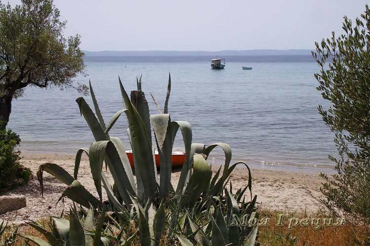 Пляж в Лагомандре