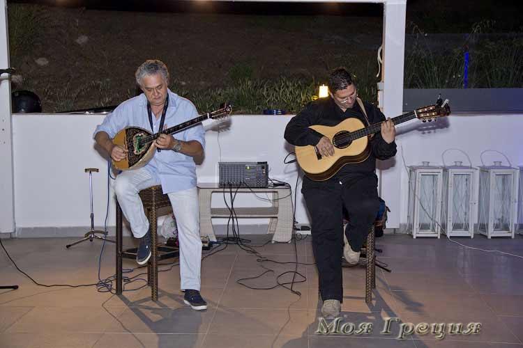 Греческий вечер в отеле Лагомандра Бич
