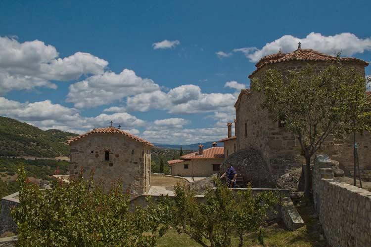 В монастыре Св. Троицы