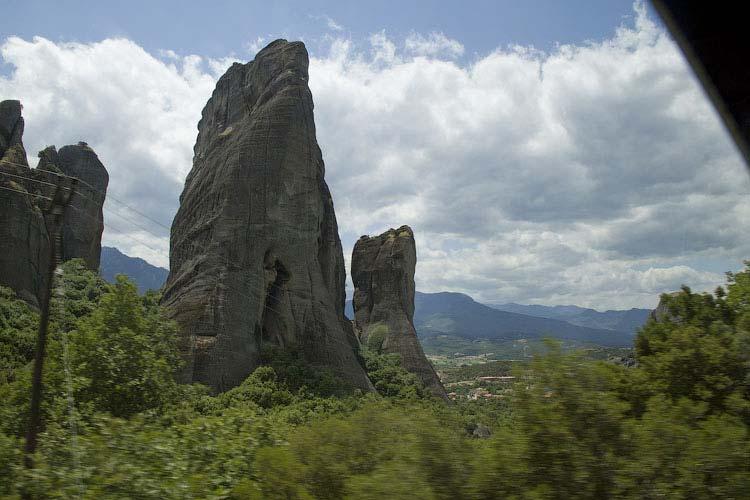 Каменные пальцы Метеоры