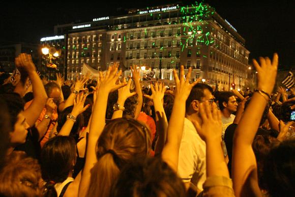 Движение Возмущенных в Греции
