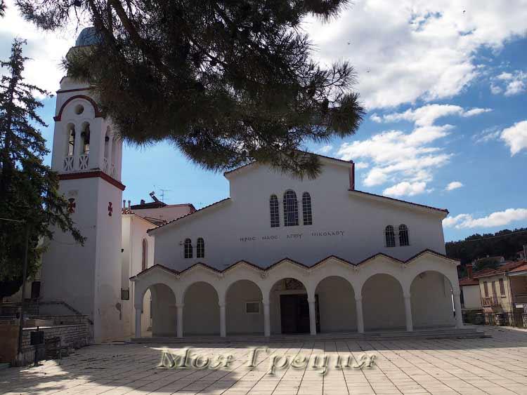 Храм Св. Николая, Полигирос