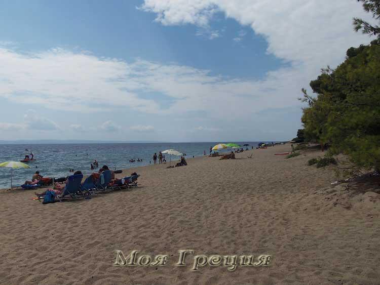 Пляж Лагомандра южный