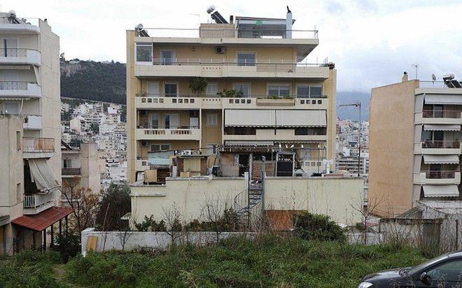 Дом Алексиса Ципраса
