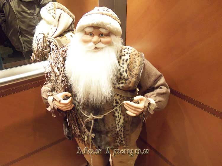 Дед-Мороз - лифтер