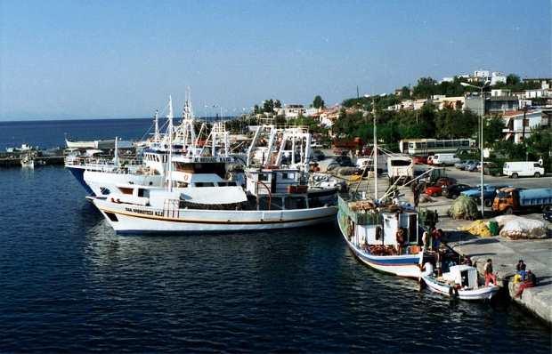 Рыбачьи судна на Самофраки