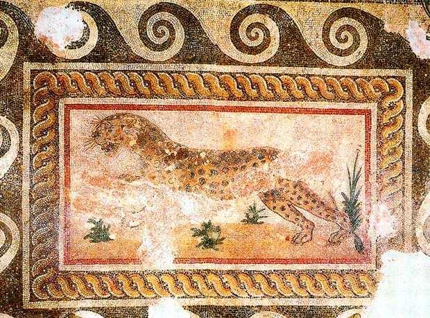 Мозаика на римской вилле, Кос