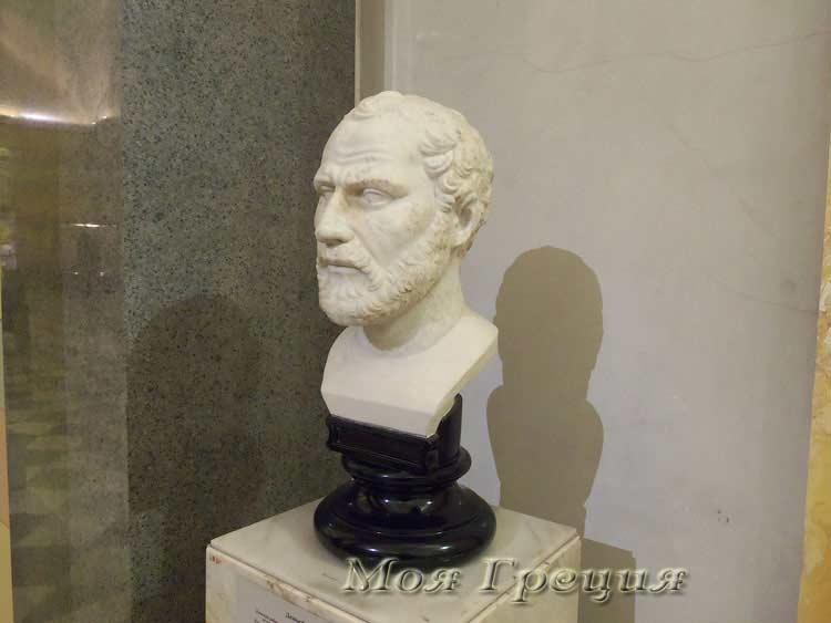 Греческий оратор Демосфен