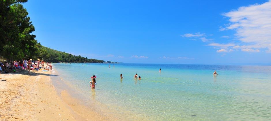 Пляж Пахис, остров Тасос