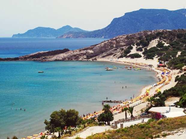 Остров Кос, пляж Парадиз