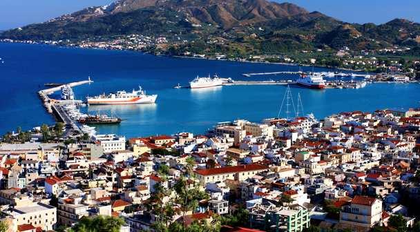Столица острова Закинтос