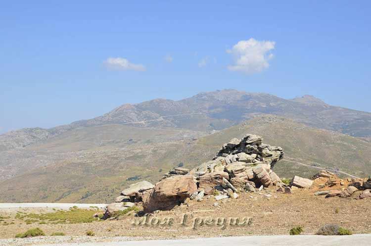 Горы Эвии