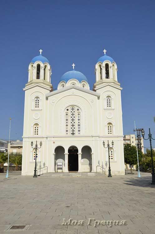 Храм Св.Николая, Каристос