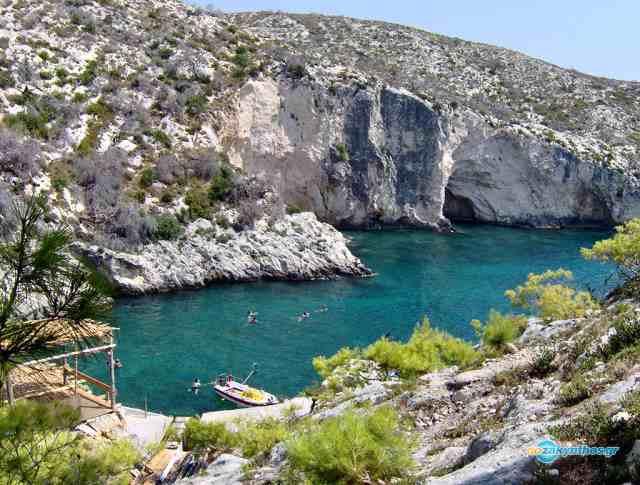 Бухта Лимнионас, Закинтос, Греция
