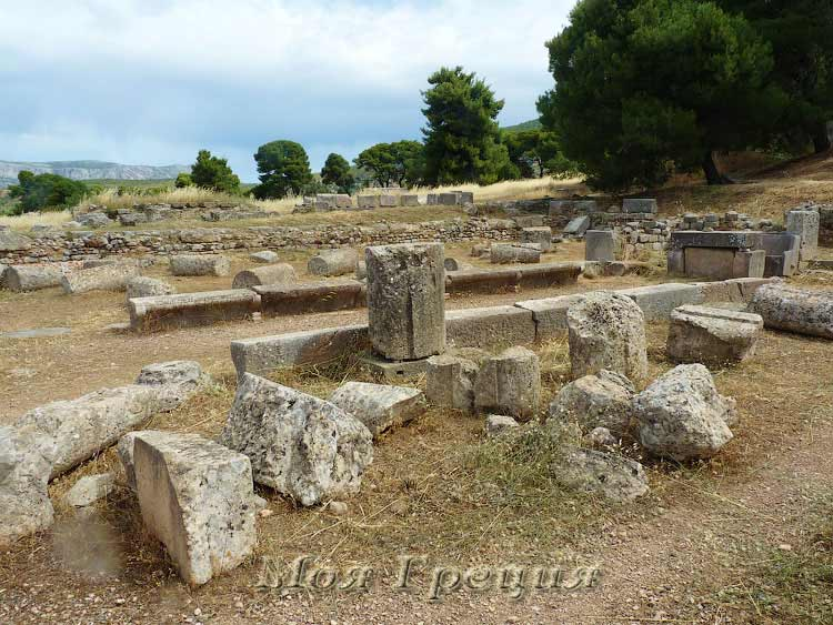 Развалины храма Асклепия, Эпидавр