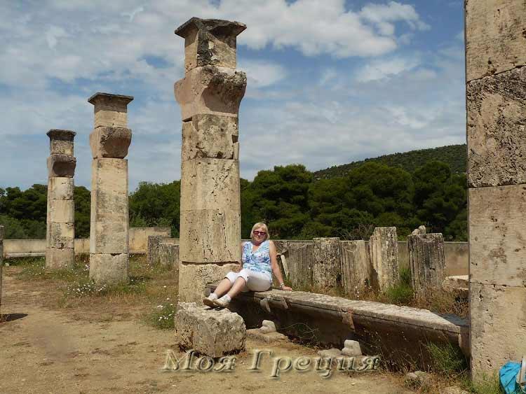 Останки храма Асклепиона, Эпидавр