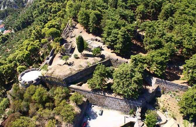 Крепость Бохали, Закинтос