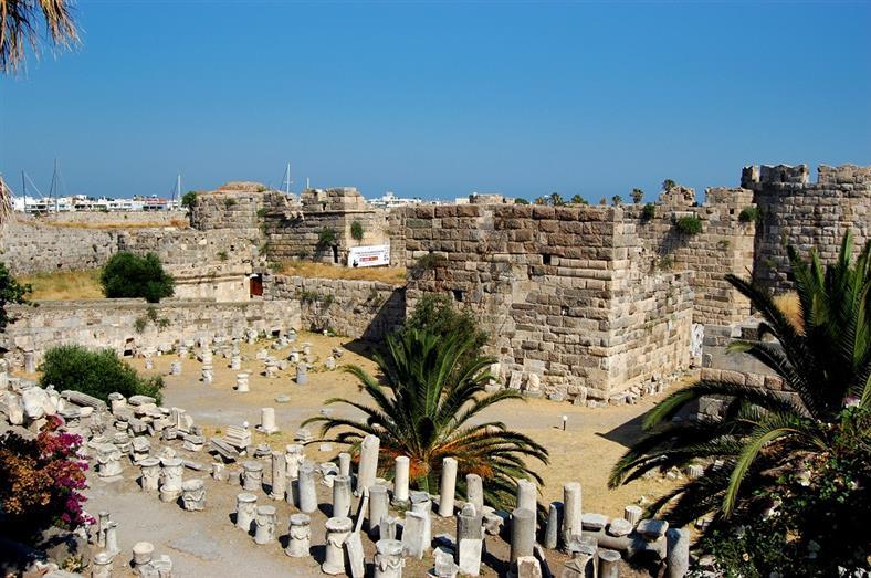Крепость Нерадзия, Кос