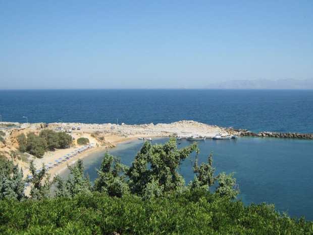 Пляж Лимнионас, Кос