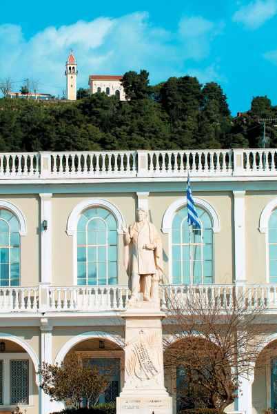 Дионисис Соломос, греческий поэт