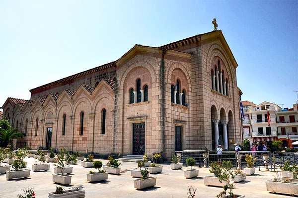 Храм Св. Дионисия, Закинтос
